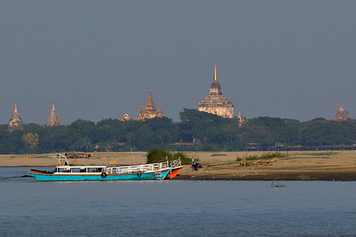 Temples along the Ayeyarwady River, by guide Doug Gochfeld