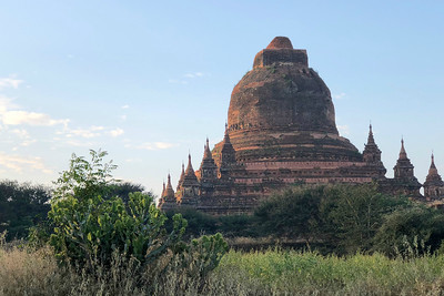 Another view at the Bagan temple complex, by guide Doug Gochfeld