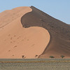 One of the famous, immense dunes at Sossusvlei, by guide Terry Stevenson.