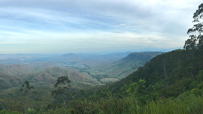The long view from Varirata National Park above Port Moresby in Papua New Guinea. Photo by guide Doug Gochfeld.