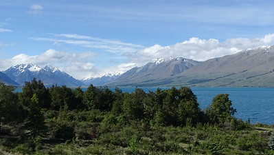 A Lake Ohau landscape, photographed by guide Dan Lane.