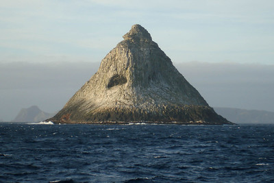 Pyramid Rock, Chatham Island. Photo by guide Chris Benesh.