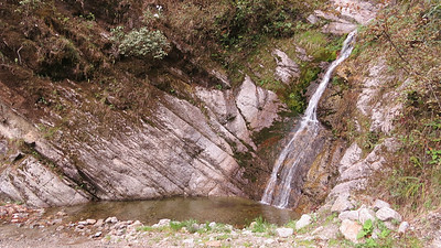 A lovely waterfall at Sunderview in Eaglenest. Photo by guide Phil Gregory.
