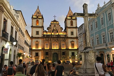 The old city of Salvador by guide Bret Whitney