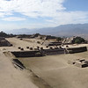 Monte Alban's central plaza: the Zapotecs built it without the benefit of the wheel or any beasts of burden! Photo by guide Dan Lane.