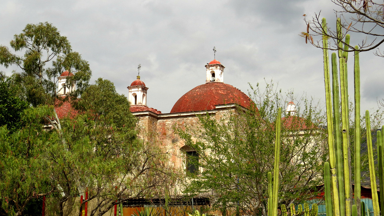 The Church of San Pablo at Mitla. Photo by participant Alan Abel.