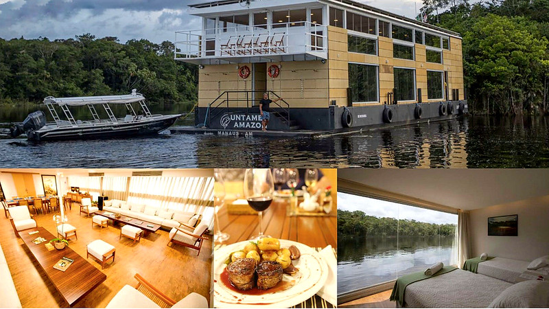 """We'll have four full days to explore the wild Rio Marié, a right-bank tributary of the remote upper Rio Negro. Our base will be the beautiful floating """"Untamed Amazon."""""""