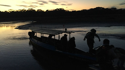 Dawn along the Rio Tambopata, by guide Dave Stejskal