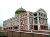 The famous Manaus Opera House, landmark of the city. Photo by guide Bret Whitney.