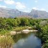 The spectacular Drakensberg escarpment by participant Sally Marrone