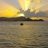 Sunrise view from Tobago's Blue Waters Inn, by participant Tony Quezon
