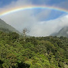 A rainbow over Mount Totumas, by participant Chris Wood
