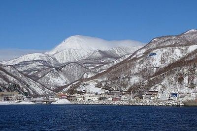 The Rausu Mountains on the Shiretoko Peninsula by guide Phil Gregory