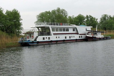 A great base for exploring the Delta: a river boat. Photo by participant Jan Shaw.