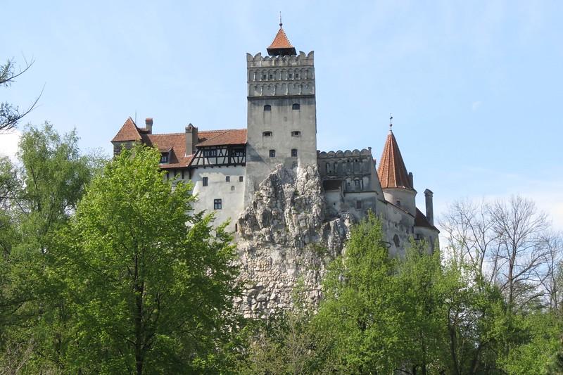 Famous Bran Castle (aka Dracula's Castle), photographed by participant Jan Shaw.