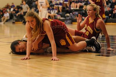 Menlo-Atherton High Varsity Girl's Basketball vs. Sequoia High, 2014-01-31