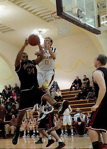 Menlo Atherton Varsity Men vs. Burlingame, 2011-02-04