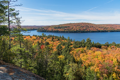 Fall foliage at Rock Lake