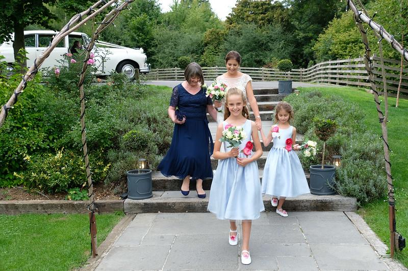 Off to the wedding ceremony