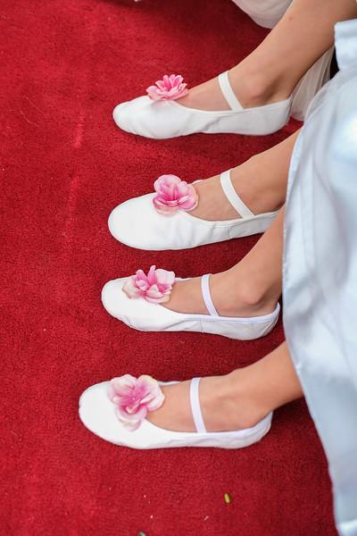 Bridesmaids ballet shoes