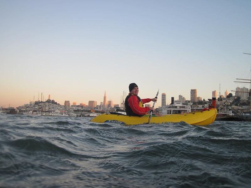 Kayak Pilot Tony