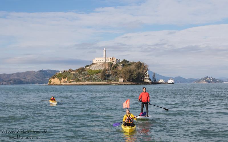 November 2015 Alcatraz Crossing - San Francisco, CA, USA