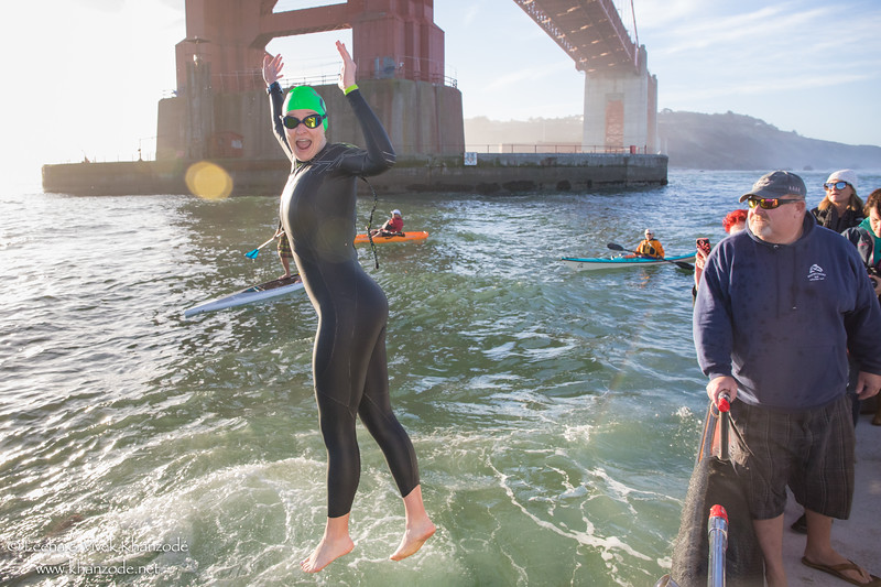 Golden Gate Bridge Swim 2017 - San Francisco, CA, USA