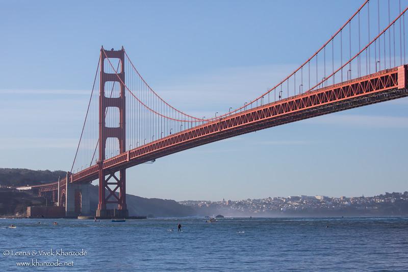 Golden Gate Bridge Swim