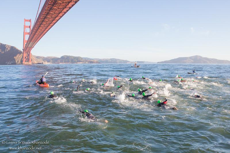 Golden Gate Bridge Swim 2017 - San Francisco, CA, USA