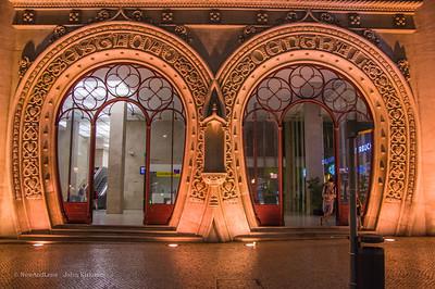 Rossio Station doors, Lisbon