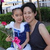 Leah and Jane after Leah's ballet concert.