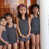 Aboard the Disney Dream, Elena, Leah, Alice and Sophia (Jan 6, 2014)