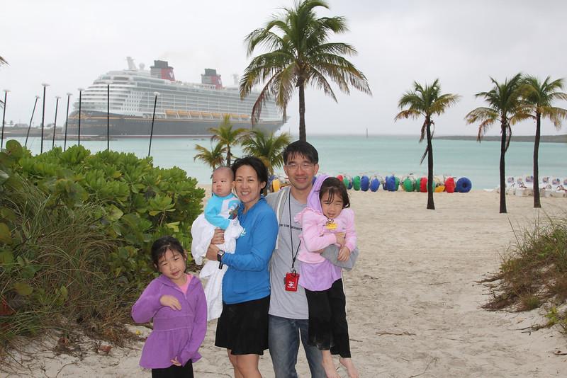 Disney's Castaway Cay aboard the Disney Dream (Jan 7, 2014)