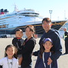 Re-boarding the Disney Wonder in St. Johns Canada