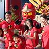 The Chen family with Abby and Ninjago Kai at Legoland, California on September 16, 2018.