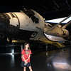 Space Shuttle Atlantis at the Kennedy Space Center.