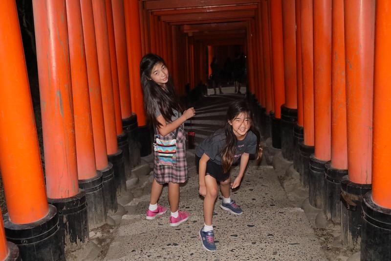 Fushimi Inari-taisha shrine in Kyoto, Japan