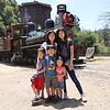 Roaring Camp Railroad near Santa Cruz