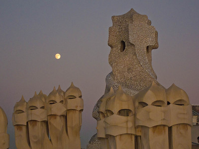 Roof of Casa Mila
