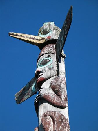 Sept 2004: Saxman Totem Village, Ketchikan, Alaska