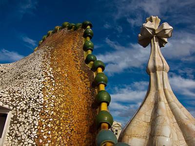Roof of Casa Battlo
