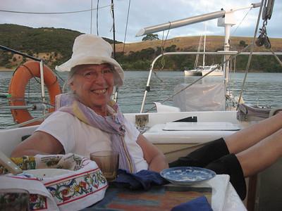 Dorothy aboard MAGIC DRAGON (by Shelly) Adagio in background
