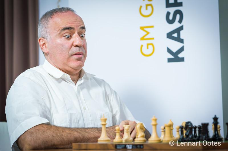 Garry Kasparov, Saint Louis 2018