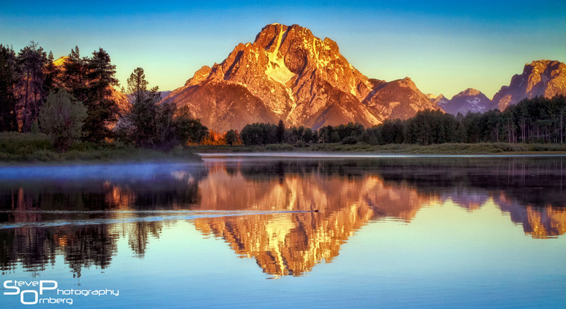 Ox Bow Bend at Sunrise
