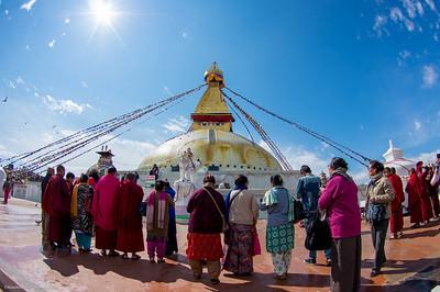Bouda Stupa, Nepal