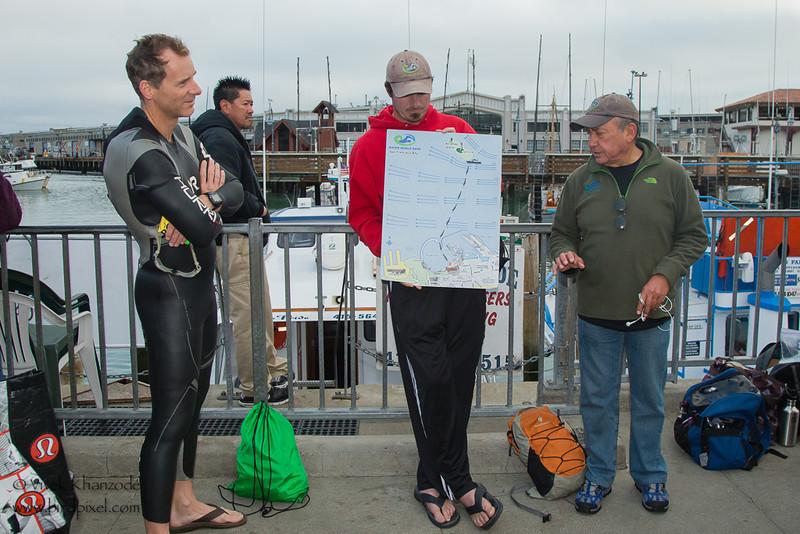 Mitali's 3rd Alcatraz Swim with Water World Swim - San Francisco, CA, USA