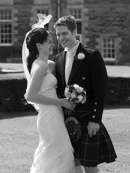 <p><b><i>Just Married!</i></b></p>  <p>Edinburgh, July 2011.</p>