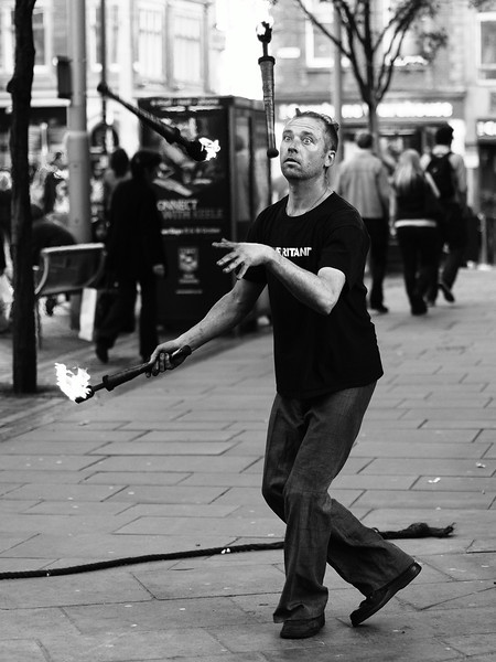 <p><b><i>Fire in his eyes</i></b></p>  <p>Nottingham, October 2011.</p>