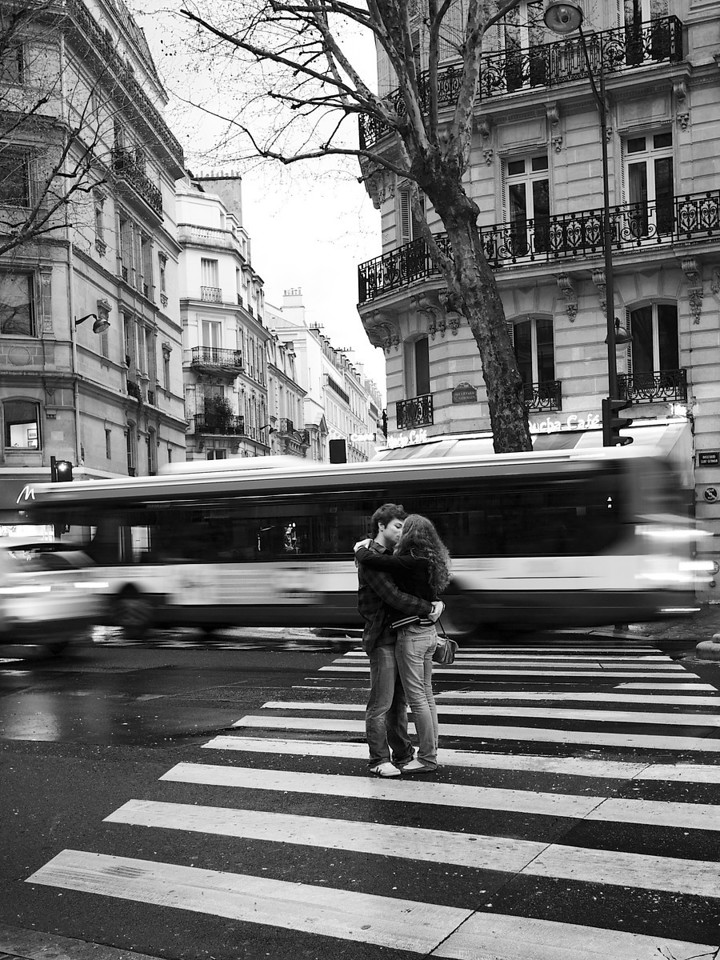 <p><b><i>French Kiss</i></b></p>  <p>Paris, March 2011.</p>