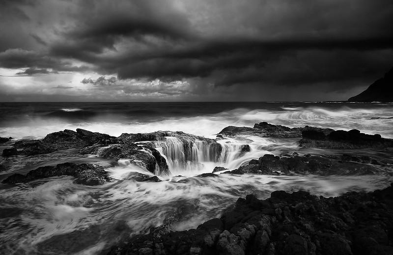 Cape Perpetua; Thor's Well; Oregon; USA